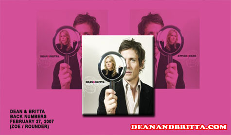 """Review Album """"Back Numbers"""" Dean And Britta"""